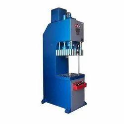 C Frame Hydraulic Press Semi Automatic