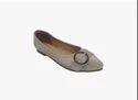 Autumn/spring Awc-119 Women Daily Wear Ballerina Shoes, Size: 40