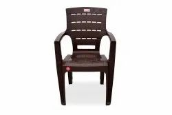 Avro 1155 Brown Molded Plastic Chair