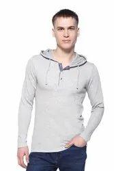 Hooded Men Fleece Sweatshirt