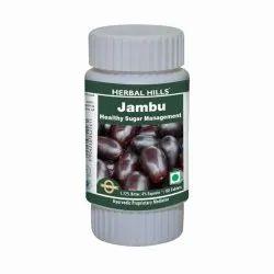 Herbal Hills Jambu/ Jamun Tablets - Jambu hills 60 Tablet