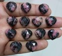 Faceted Heart Shape Gemstone - Semi Precious Gemstone