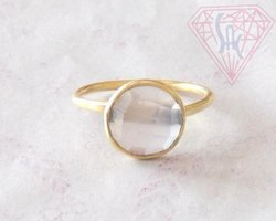 Semi Precious Gemstone Ring