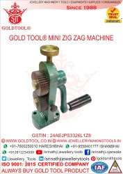 Gold Tool ZigZag Machine