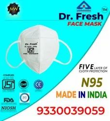 Reusable N95 Face Mask With Adjusters