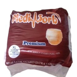 Mediabsorb Premium Pull Ups Adult Diaper, Size: XL