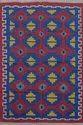 Multicolor Printed Cotton Rug