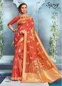 Fancy Lichi Silk Saree