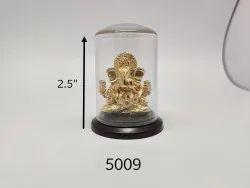 Divine Golden Ganesha Idol