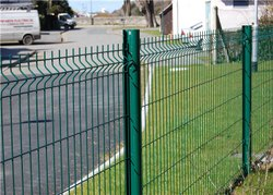 Welded Mesh Fence System