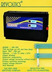 REVOLTICS STABILIZER FOR LCD AND DTH FULLY AUTOMATIC WR 250, Wall Mounting, 90v - 290 Volt