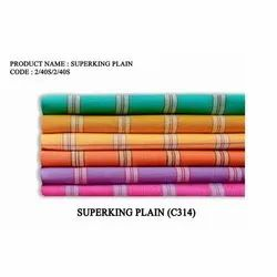 Super King Cotton Striped Towel, Rectangular, Size: 30x60 Inches