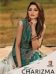 Shraddha Designer Charizma Vol-3 Pure Cambric Cotton With Chicken Work Suits Catalog