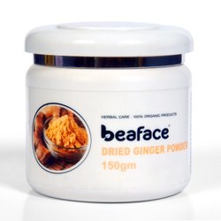 Beaface Dried Ginger Powder, Packaging Type: Plastic Container, Packaging Size: 150 gm