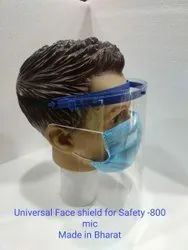 Universal Face Shield For Safety-800  Mic