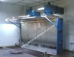 Wet Spray Booth / Water Curtain Spray Booth