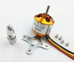 A2212 10T 1400KV Brushless Motor, 12 V