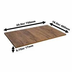 Coated Wooden Surface Flooring, Thickness: 17 Mm