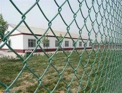 Green Galvanized Iron Garden fencing