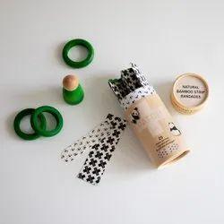 Bamboo Coconut Oil Kids Bandages - Tube of 25