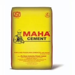 Maha Ppc Cement, Packaging Size: 50 Kg