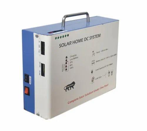 12v 10a Solar Home Lighting System Capacity 125w Rs 1250 Piece Id 20481062588