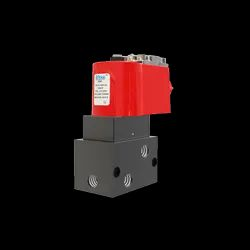 5/2 Internal Pilot Operated Single Solenoid Poppet Valve
