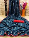 Fancy Ladies Indian Wear Dhola Silk Saree