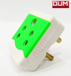 6 Amp Dum Flameproof Multi Plug Adapter