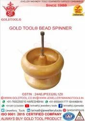 Gold Tool Wooden Bead Spinner