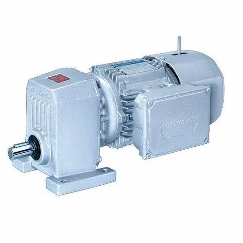 Single Reduction Helical Gearmotors