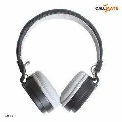 CallMate Over The Head SH12 High Bass Wireless Bluetooth Headphone