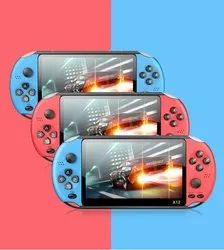 X12 Game Player 1200 Games 480p 5.1 inch 8G 16G LCD Screen Built-in Battery Retro
