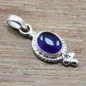 925 Sterling Silver Fancy Jewelry Labradorite Stone Pendant