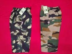 Mix Cameo Prints PV Military Print Capri Shorts, Size: 20x24 Inch