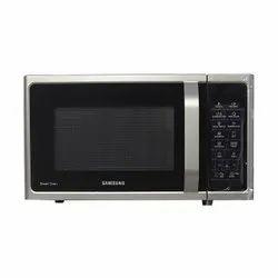 Black Samsung 28 L Convection Microwave