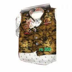Boy Printed Denim Kids Cloth
