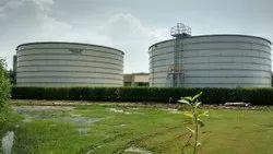 Steel Cream Prefabricated Tank, For Water Storage