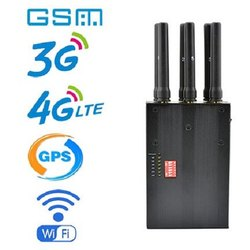 6 Bands Handheld Cell Phone Signal Jammers 2G 3G 4G GPS