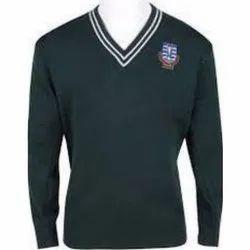 V-Neck School Sweater