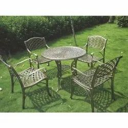 Modern Wrought Table Chair Set