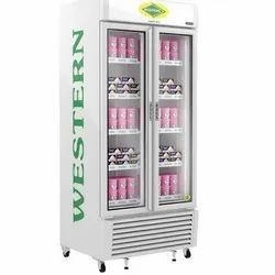 Western SRF900 Double Door Vertical Deep Freezer