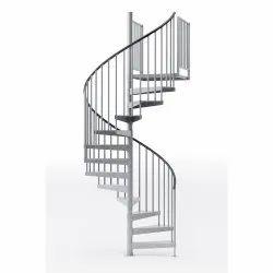 Victorian Cast Iron Spiral Staircase