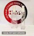 100 Ml Transparent Plastic Bottle