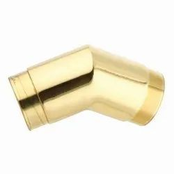 POLISHED BRASS ELBOW 1.5''