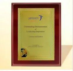 FP 10762 Golden Certificate Memento