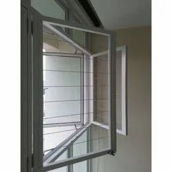Royal Innovation Modern Dabble Side Openable Aluminum Hinged Window, For Residential & Commercial