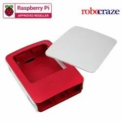 Official Raspberry Pi Red & White Case
