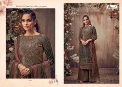 Kesar Launch Imara Pure Viscose Velvet Winter Dress Collection