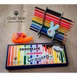 Choki Moki Chocolate Flavoured Crayons Gift